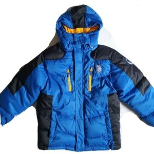 USPA boys winter jacket puffer